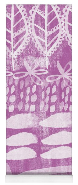 Orchid Fields Yoga Mat