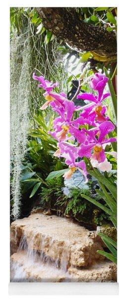 Orchid Garden Yoga Mat