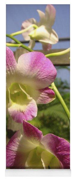 Orchid Splendor Yoga Mat