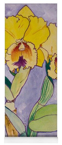 Orchid Study Yoga Mat