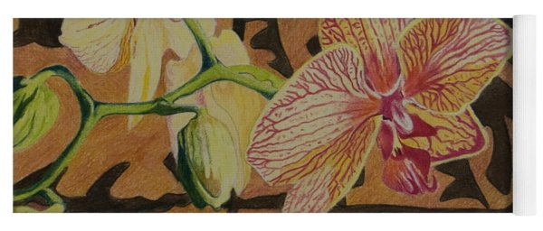 Orchid With Tapa Yoga Mat