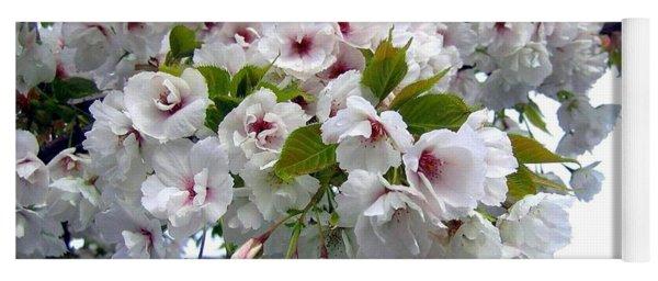 Oregon Cherry Blossoms Yoga Mat
