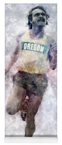 Oregon Ducks Steve Prefontaine Yoga Mat