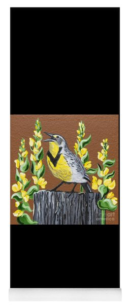 Oregon Meadowlark Yoga Mat