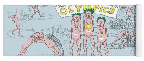 Original Olympics Yoga Mat