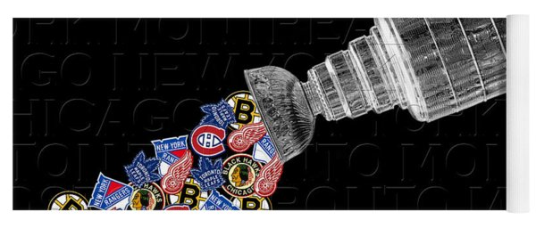 Original Six Stanley Cup 2 Yoga Mat