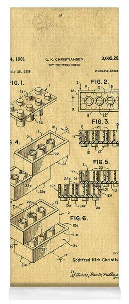 Original Us Patent For Lego Yoga Mat
