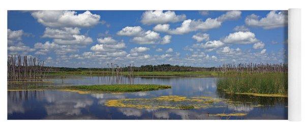 Orlando Wetlands Park Cloudscape 4 Yoga Mat