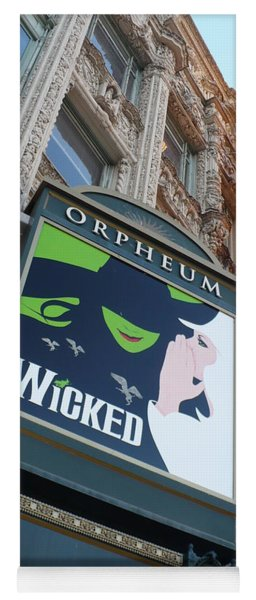 Orpheum Sign Yoga Mat