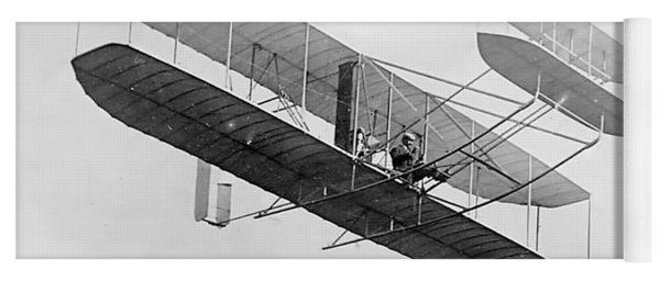 Orville Wright In Wright Flyer 1908 Yoga Mat