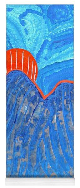 Os Dois Irmaos Original Painting Sold Yoga Mat