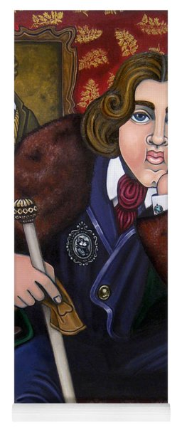 Oscar Wilde And The Picture Of Dorian Gray Yoga Mat