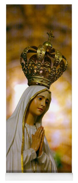 Our Lady Of Fatima Yoga Mat