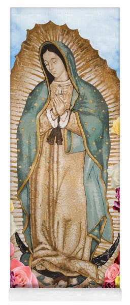 Our Lady Of Guadalupe Yoga Mat