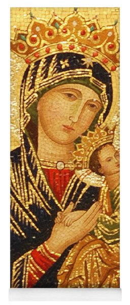 Our Lady Of Perpetual Help  Yoga Mat