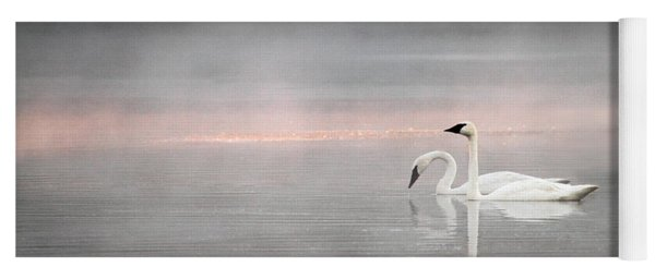 Out Of The Mist Yoga Mat