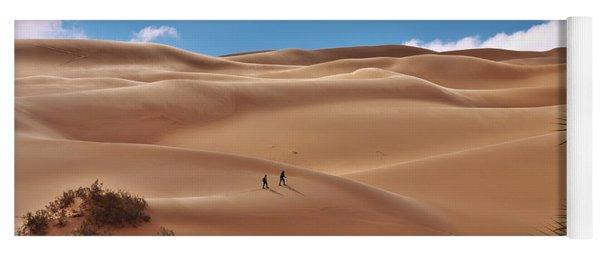 Over The Dunes Yoga Mat