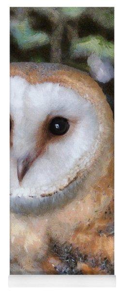 Owl - Bright Eyes 2 Yoga Mat