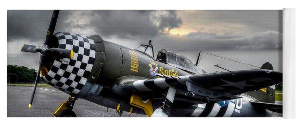 P-47 Sunset Yoga Mat