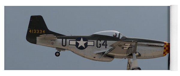 P-51 Landing Configuration Yoga Mat