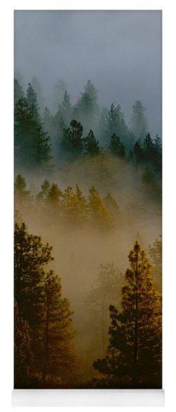Pacific Northwest Morning Mist Yoga Mat