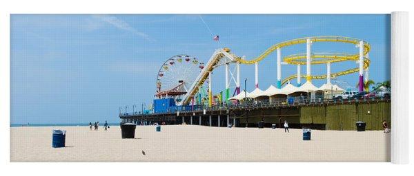 Pacific Park, Santa Monica Pier, Santa Yoga Mat