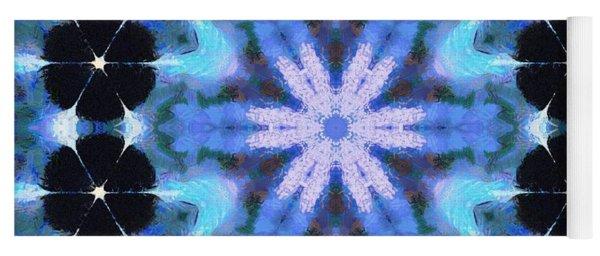 Painted Cymatics 108.00hz Yoga Mat