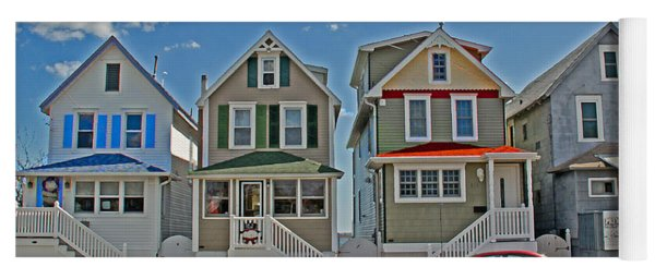 Painted Ladies Of Somers Point Yoga Mat
