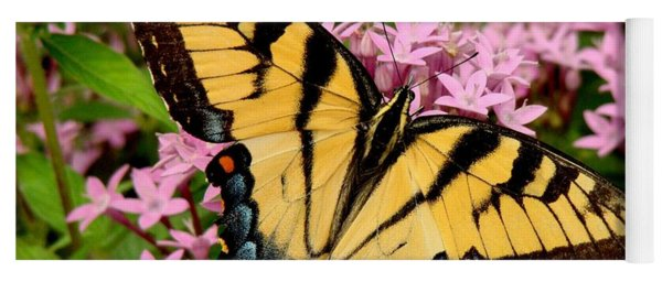 Painted Wings Yoga Mat
