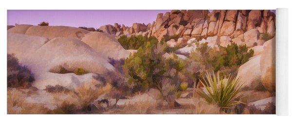 Painterly Desert Yoga Mat