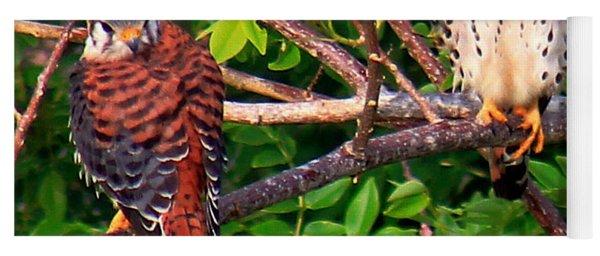 Caribbean Falcons Yoga Mat