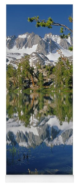 2m6443-v-palisade Peaks And Summit Lake V Yoga Mat
