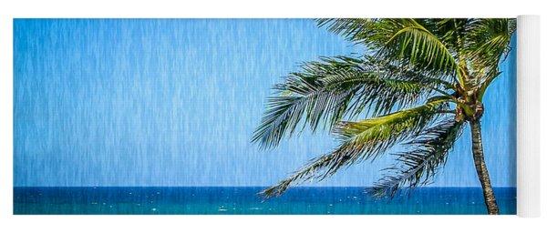 Palm Tree Swaying Yoga Mat