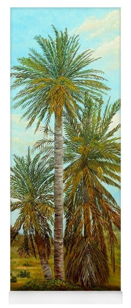 Palm Trees Yoga Mat