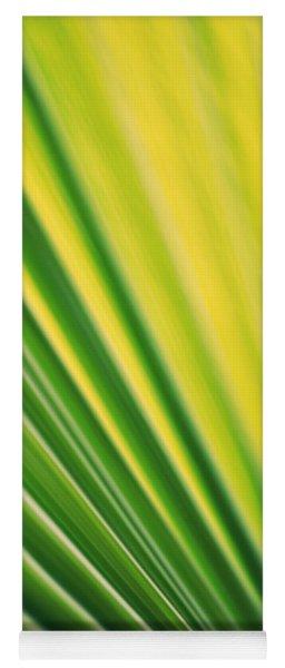 Palmenblatt Yoga Mat