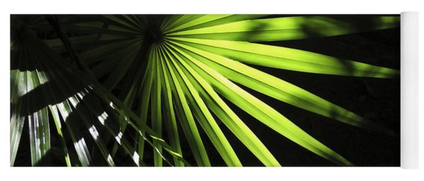 Palmetto And Rays Yoga Mat