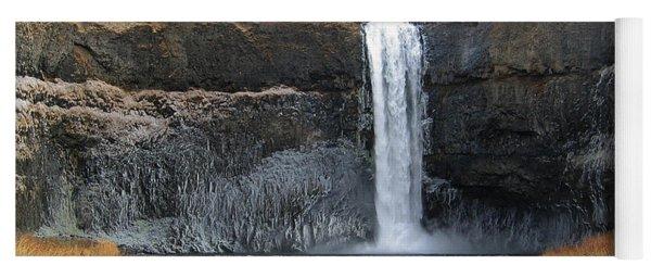 Palouse Falls In The Winter Yoga Mat