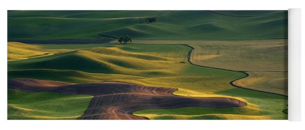 Palouse Shadows Yoga Mat