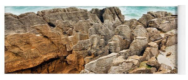 Pancake Rocks Yoga Mat