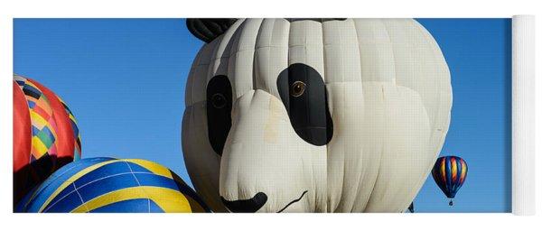 Panda Balloon Yoga Mat
