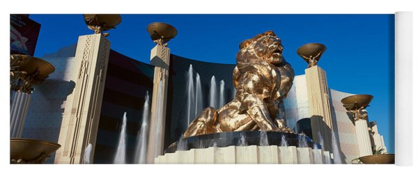 Panoramic View Of Mgm Lion And Mgm Yoga Mat