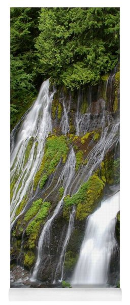 Panther Creek Falls 2- Washington Yoga Mat