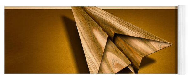 Paper Airplanes Of Wood 1 Yoga Mat