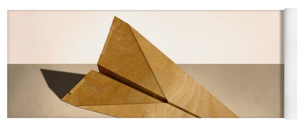 Paper Airplanes Of Wood 15 Yoga Mat