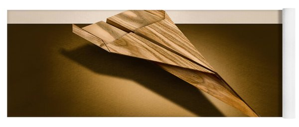 Paper Airplanes Of Wood 3 Yoga Mat