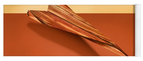 Paper Airplanes Of Wood 4 Yoga Mat