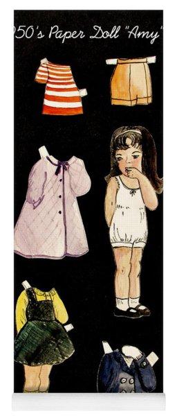 Paper Doll Amy Yoga Mat