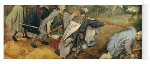 Parable Of The Blind, 1568 Tempera On Canvas Yoga Mat