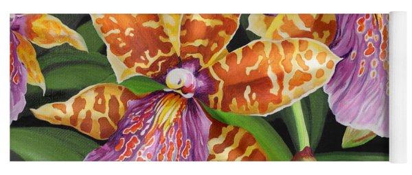 Paradise Orchid Yoga Mat