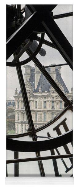 Paris Clock Yoga Mat